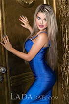 Russian single woman yanina from kharkov with Blonde hair age 32
