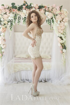 Russian pretty woman julia from kharkov with Light Brown hair age 28