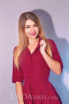 Dating women from ukraine anna from kiev with Light Brown hair age 29