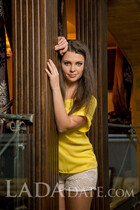 Beautiful single Ukraine woman nadejda from nikolaev with Light Brown hair age 26