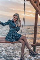 Ukraine women for marriage alisa from kiev with Blonde hair age 25