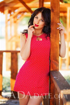 Gorgeous Ukrainian bride julia from nikolaev with Dark Brown hair age 21