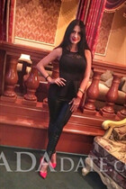 Ukraine romance tours with arina from dnepr with Black hair age 21