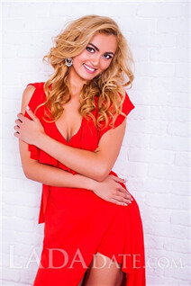 Russian mail order bride catalog alisa from odessa with Blonde hair age 24