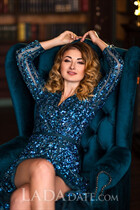 Mail order bride ukraine alina from donetsk with Light Brown hair age 35
