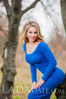 Ukraine marriage agency kherson ekaterina with Blonde hair age 31