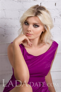 Ukrainian girl for marriage elena from kiev with Blonde hair age 25