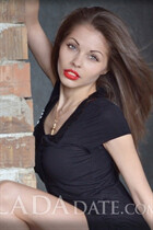 Ukrainian wife alesia from odessa with Dark Brown hair age 30