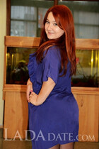 Beautiful Ukrainian brides daria from poltava with Red hair age 29