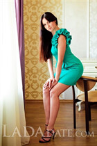 Young Ukrainian girl yana from kiev with Dark Brown hair age 31