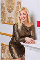 Pretty women Russian bride viktoria from nikolaev with Blonde hair age 39