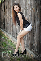 Single Ukraine lady anna from kherson with Dark Brown hair age 24