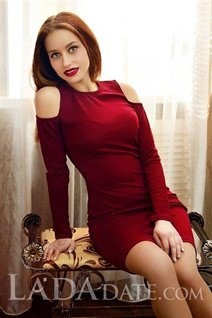 Ukrainian russian women lyudmila from nikolaev with Light Brown hair age 19