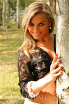 International beautiful girl tatyana from kropivnitskiy with Blonde hair age 40