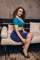 Ukrainian women for marriage olga from dnepr with Dark Brown hair age 34
