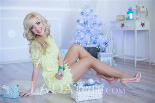 Pretty Ukrainian woman anna from zaporozhye with Blonde hair age 32