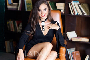 Single women ukraine yaroslava from kishinev with Dark Brown hair age 24