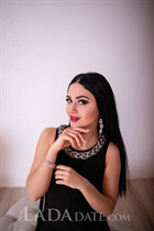 Beautiful women from ukraine julia from kiev with Dark Brown hair age 21