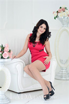 Ukraine girl for marriage olesya from mariupol with Dark Brown hair age 32