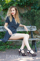 Ukrainian mail order bride aleksandra from uman with Light Brown hair age 21