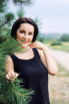 Ukraine beauty girl larisa from kharkov with Dark Brown hair age 53