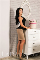 Hot russian mail order bride tatyana from lisichansk with Black hair age 27