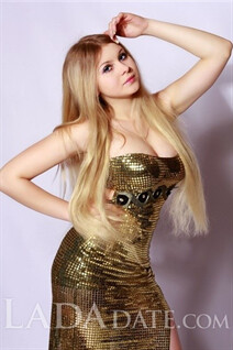 Mail brides from kiev valerie with Blonde hair age 23