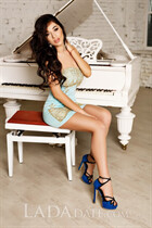 Single women in ukraine lesya from kiev with Dark Brown hair age 27