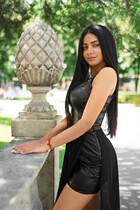 Ukraine pretty girl adelina from kharkov with Black hair age 21
