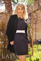 Russian bride tours with elena from poltava with Blonde hair age 36