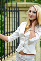 Pretty Russian girl oksana from mariupol with Blonde hair age 43