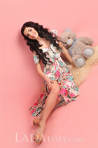 Russian single woman ekaterina from dnepr with Black hair age 27