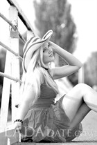 Ukraine romance tours with olga from nikolaev with Blonde hair age 26