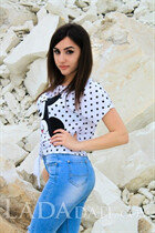 Dating a ukrainian woman valeria from kiev with Black hair age 22