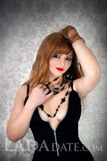 Single Ukraine lady anna from kirovograd with Light Brown hair age 41