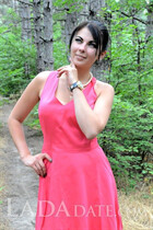 Global lady irina from zaporozhye with Dark Brown hair age 29
