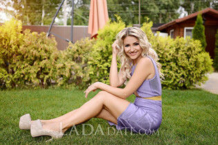 Beautiful single Ukraine woman maria from kiev with Blonde hair age 37