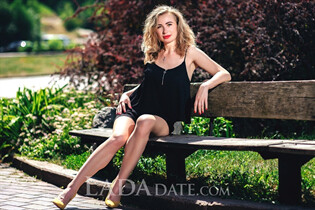 Russian beauty woman irina from uman with Blonde hair age 34