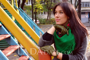 Mail order bride catalog tetyana from alchevsk with Black hair age 29