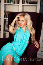 Russian mail order bride catalog svetlana from zaporozhye with Blonde hair age 36