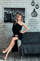 Hot russian mail order bride julia from kharkov with Blonde hair age 25