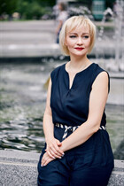 Russian pretty woman elena from poltava with Blonde hair age 46