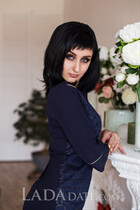 Meet ukraine women oksana from oleksandriia with Black hair age 34