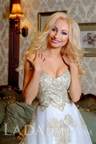Bride prices marina from odessa with Blonde hair age 28