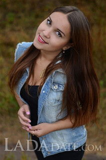Hot girl Russia julia from kharkiv with Dark Brown hair age 24