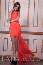 Russian bride tours with ekaterina from odessa with Light Brown hair age 26