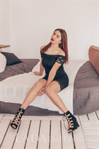 Beautiful women ukraine maria from vinnitsa with Dark Brown hair age 18