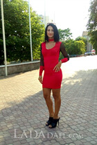 Ukraine beautiful girl anzhela from mykolayv with Black hair age 37