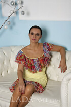 Russian bride yana from mariupol with Dark Brown hair age 47