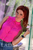 Beautiful Ukrainian brides maria from odessa with Red hair age 23